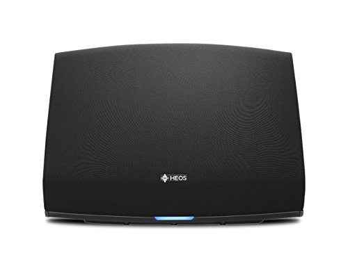 Denon HEOS 5 Hi-Res Audio, Compact, Portable Wireless Bluetooth Speaker with Amazing Sound (Updated Version), Black, Works with Alexa