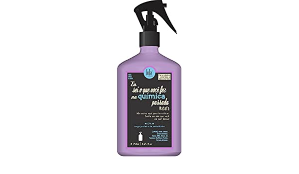 Amazon.com : Linha Eu Sei o Que Voce Fez Na Quimica Passada Lola - Carga Proteica De Aminoacidos (CPA) 250 Ml - (Lola I Know What You Did Last Treatment ...