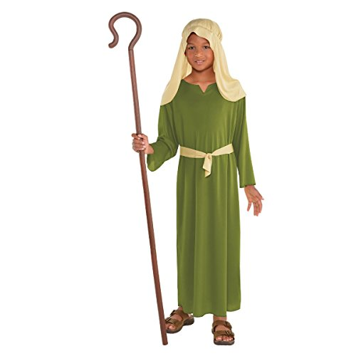 Amscan Green Shepherd Costume for Boys, Bible Costumes for Kids, Small, with Included Accessories - http://coolthings.us