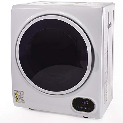 Barton Premium Digital Electric Laundry Automatic Dryer Machine Timer Easy Control Panel Dry Clothes, White