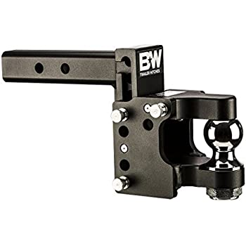 Drop Down Hitch >> Amazon.com: B&W TS10056 Pintle Receiver Hitch Ball Mount