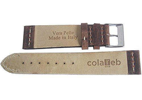 ColaReb 22mm Venezia Tobacco Leather Watch Strap by ColaReb (Image #1)