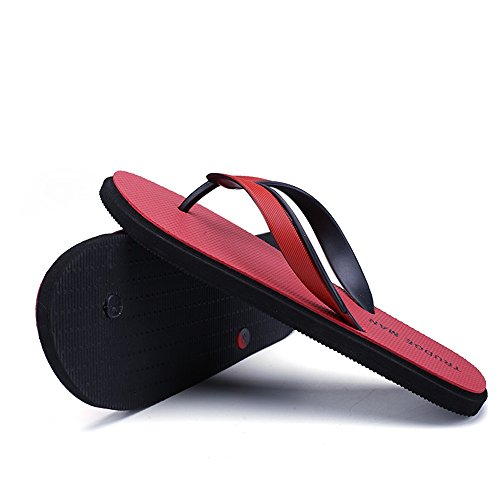 Size color Hombre Tanga Talla Zapatillas Juans De Para Zapatos Clásicas Chanclas 45eu Hasta Red Black Sandalias 10mus Casual shoes wCWq14t6a