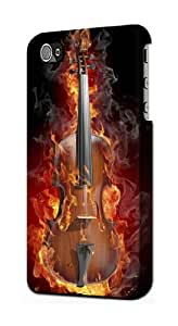 S0864 Fire Violin Case Cover for Iphone 5 5s