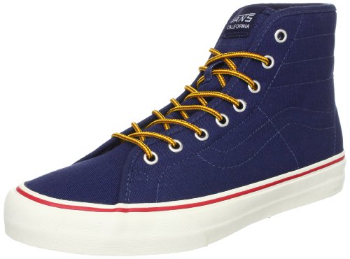 blues Vans Blau Hi Sneaker canvas dress Binding oz CA SK8 Blau 10 ZzwZ1q