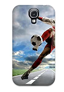 Lucila Cruz-Rodrigues's Shop Case For Galaxy S4 With Nice Football Appearance 1438743K98423421