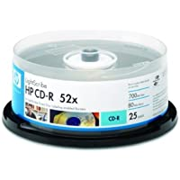 Hewlett Packard CD-R 52x LIGHTSCRIBE, cake 25