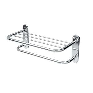 Gatco 1532 18-Inch L Towel Shelf, Chrome