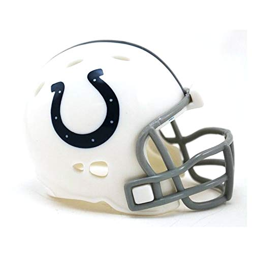 - Indianapolis Colts NFL Riddell Speed Pocket PRO Micro/Pocket-Size/Mini Football Helmet