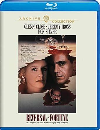 Reversal of Fortune [USA] [Blu-ray]: Amazon.es: Glenn Close ...