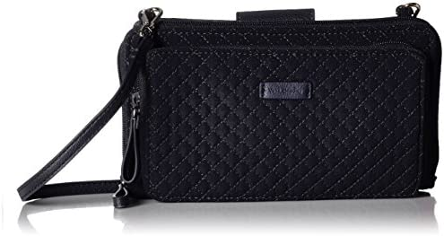 Vera Bradley Microfiber Deluxe All Together Crossbody Purse with RFID Protection
