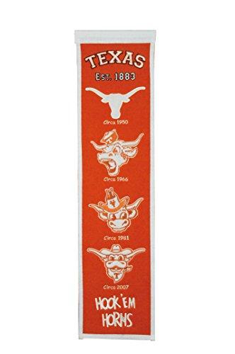(Winning Streak Sports NCAA Texas Longhorns Heritage Banner)