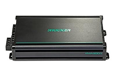 Kicker KMA300.4 4x75 Watt 4-Channel Weather-Resistant Full-Range Amplifier