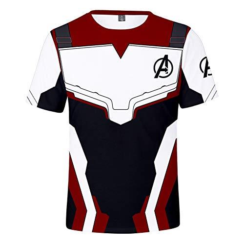 Unisex 3D Avenger's Endgame T-Shirt  Premium Superhero Shirt Casual Tees-e-m