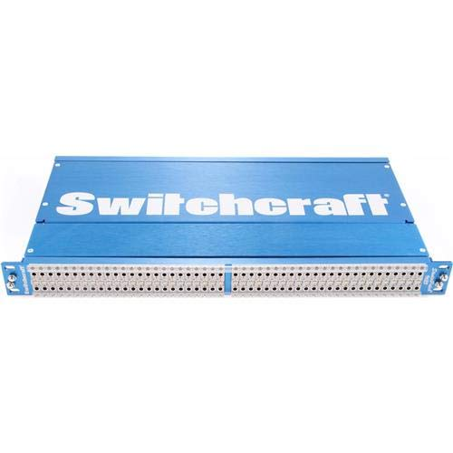 Switchcraft Studiopatch 96 Patch Points to DB25 with Programmable Grounds