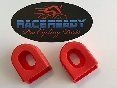 RACE READY 2 Crank Arm Boots.MTB.Cycling. fits SRAM/Shimano - Red ()