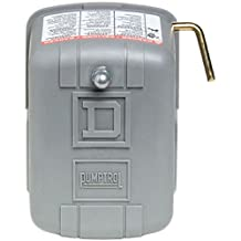 Square D by Schneider Electric FSG2J21M4CP 30-50 PSI Pumptrol Water Pressure Switch with Low Pressure Cut-Off
