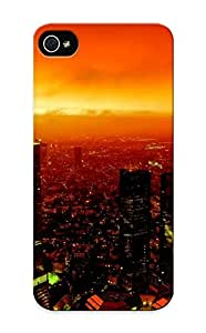 Awesome 6bae0dd620 Graceyou Defender Tpu Hard Case Cover For Iphone 5/5s- Cityscapes Fire Buildings