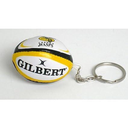 Avispas pelota de rugby llavero: Amazon.es: Deportes y aire ...