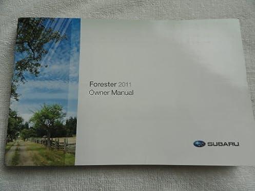 2011 subaru forester owners manual amazon com books rh amazon com 2010 subaru forester owners manual 2010 subaru forester owners manual pdf