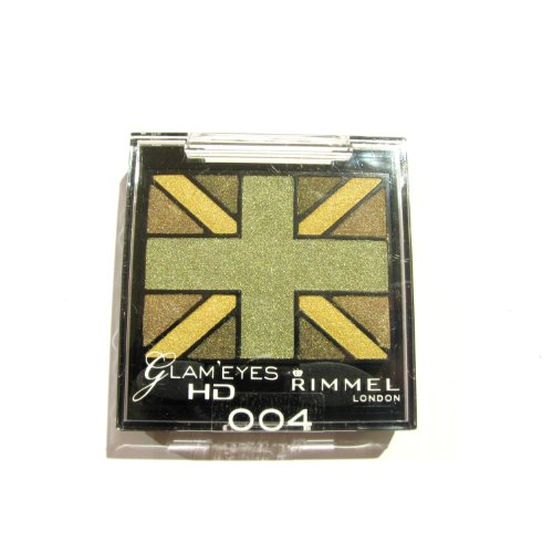 RIMMEL LONDON Glam'Eyes HD Eyeshadows - Green Park