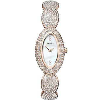 Ladies Seksy by Sekonda Elegance Rose Gold Plated Watch 4207