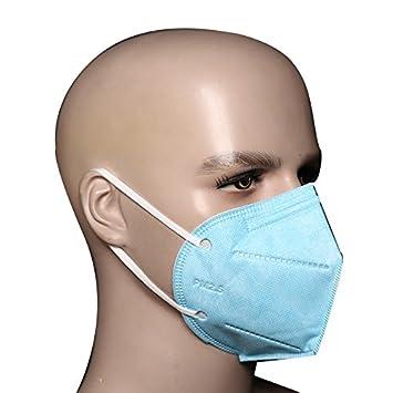 Bllomsem 10pcs Cara Máscara Filtrar Antipolvo PM2.5 ...
