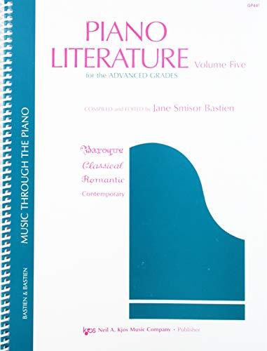 GP441 - Piano Literature Volume 5 - Bastien