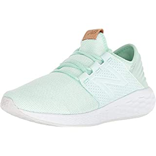New Balance Women's Fresh Foam Cruz V2 Sneaker, Seafoam Green, 5 B US