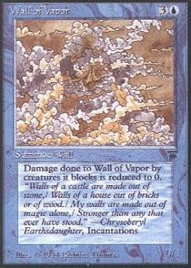 - Magic: the Gathering - Wall of Vapor - Legends