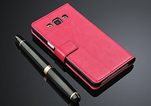 Voltear caja del teléfono de la cubierta de cuero de la PU para Samsung Galaxy A5 2016 A510F A5100 Lavanda