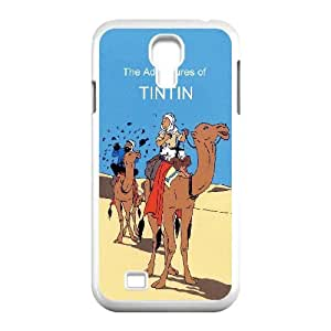Samsung Galaxy S4 9500 Cell Phone Case White TinTin cartoon cel
