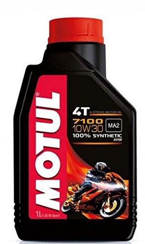 motul17 - Bote 1 Litro Aceite Motul 7100 4T 10 W30 100% sintentico ...