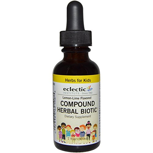 Kids Compund Herbal Biotic - Lemon-Lime No Alcohol Eclectic Institute 1 oz Liquid
