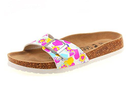 Slippers vovmi Heart Woman Sandal flip Beach Colorful Shoes Women Flops qggtwZa