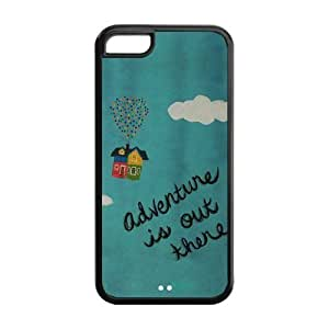 Fanshion Design Adventure is out there for iPhone 5c Best Durable TPU and PC Case