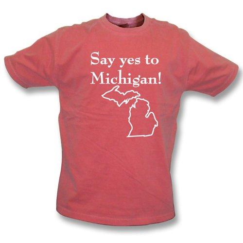 全日本送料無料 Say Yes to Tシャツ Michigan ( Yes as Say worn byジャックホワイトホワイトのストライプ) Vintage Wash Tシャツ – Girlsスリムフィット、カラーレッド Large B00BSGY1WS, ZORO SHOP:c5272403 --- a0267596.xsph.ru