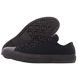 Converse Chuck Taylor All Star Ox Shoe Size 9.5 Women/7.5 Men, Color: Black Canvas/Black