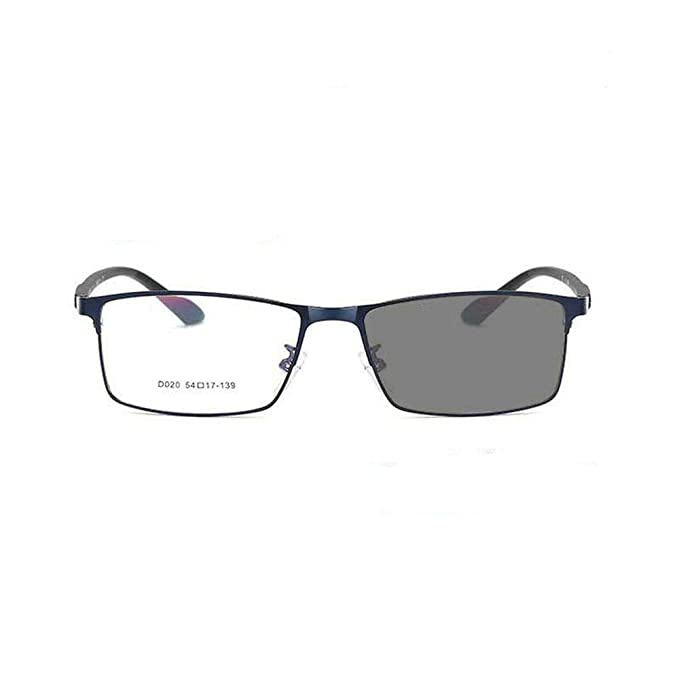 MINCL/Transition Sunglasses Photochromic myopia Eyeglasses Finished Men Square Computer Optical Glasses Frame