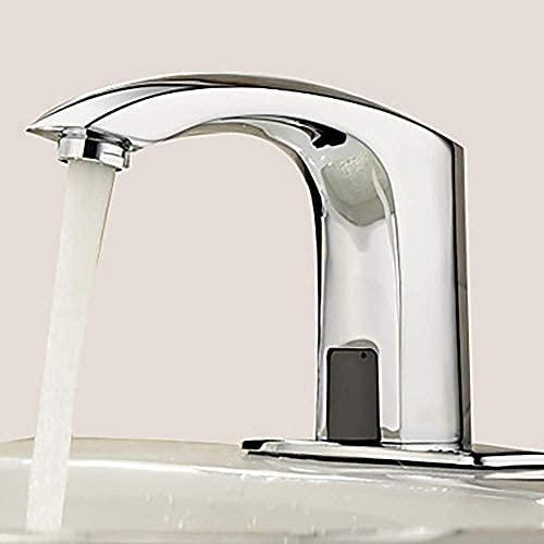 BXU-BG 流域の蛇口の水の蛇口クリエイティブホテルの浴室浴室のシンクの蛇口タッチ非接触単穴ハンズフリー蛇口浴室用タップ