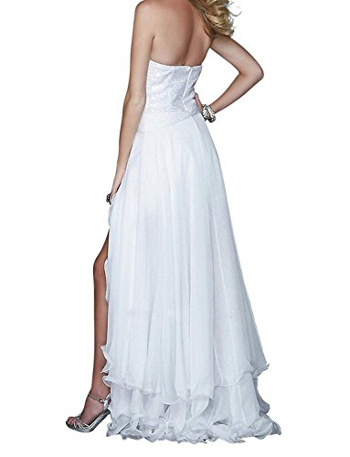 Brautkleider Spitzen White Train Two Damen Detachable with Kleider Fanciest Pieces UqCInwP