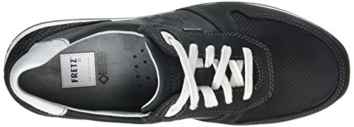FRETZ men Stans, Men's Low-Top Sneakers Black - Schwarz (51 Noir)