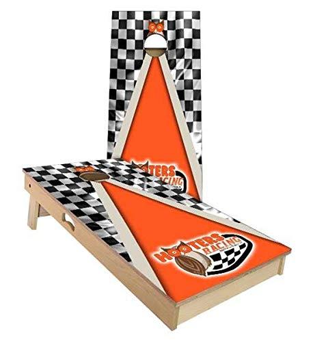 Floating Pong Hooters Racing Cornhole Boards, 2x4 (24