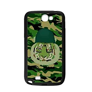 Tiger Camo Print Personalized Custom For Case Samsung Galaxy S4 I9500 Cover