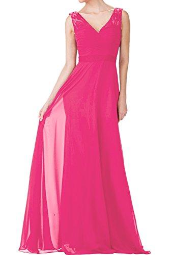 Pink Promkleider Partykleider Hell Ballkleider Elegant Abendkleider mia La Festlichkleider Burgundy Etuikleider Braut wTTqRP