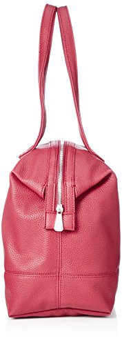 Armani royal Red Cabas Rouge Bag Tote Leather Exchange HrFqYH4w