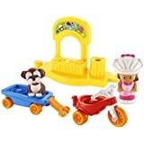 Fisher-Price Little People Trike and Wagon Playset