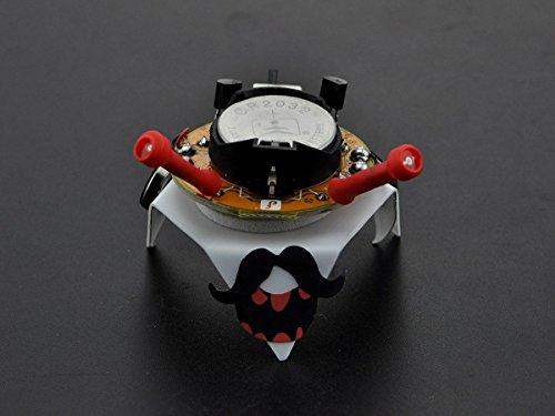 Price comparison product image Monoprice Soldering Light Chaser Robot Kit