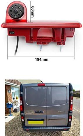 2014-2019 Vardsafe VS866 Brake Light Rear Reverse Camera for Renault Trafic//Vauxhall Opel Vivaro//Nissan NV300 Fiat Talento