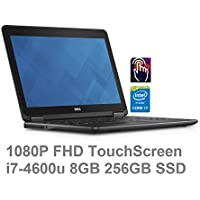 Dell Latitude E7240 ULTRABOOK 12.5 (1920x1080) Full HD TOUCHSCREEN | Core i7-4600U | 256GB SSD | 8GB |Finger Print | Windows 8 Professional (Certified Refurbished)